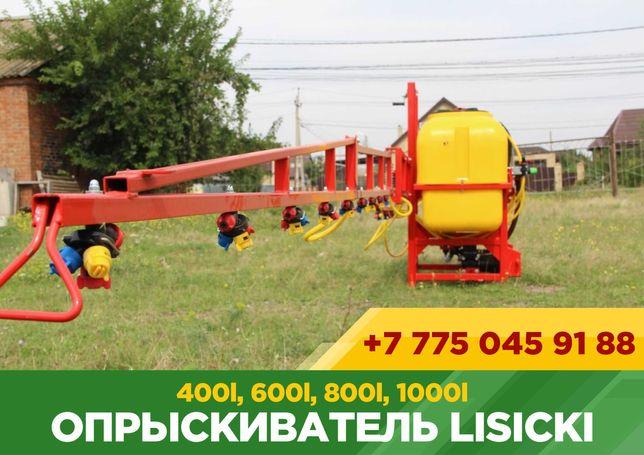Опрыскиватель навесной Lisicki 400l, 600l, 800l, 1000l