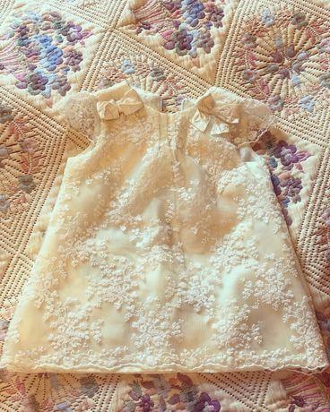 Детское кружевное платье