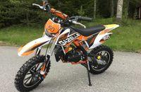 Motocicleta 49cc Gazelle Deluxe #ALBASTRU