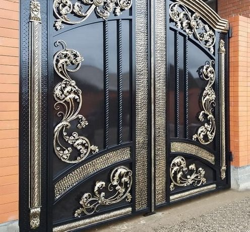 ПОКРАСКА ворот, заборов, навесов, дверей, перил оград
