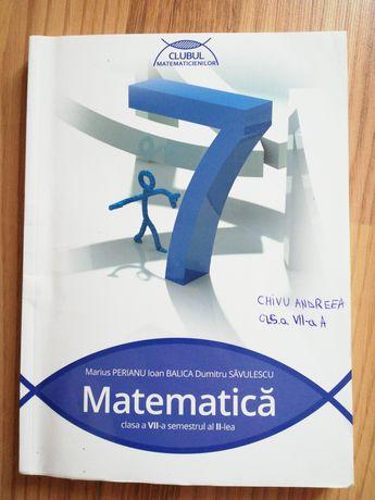 Culegere matematica cls a 7 a, Clubul Matematicienilor, Volumul 2