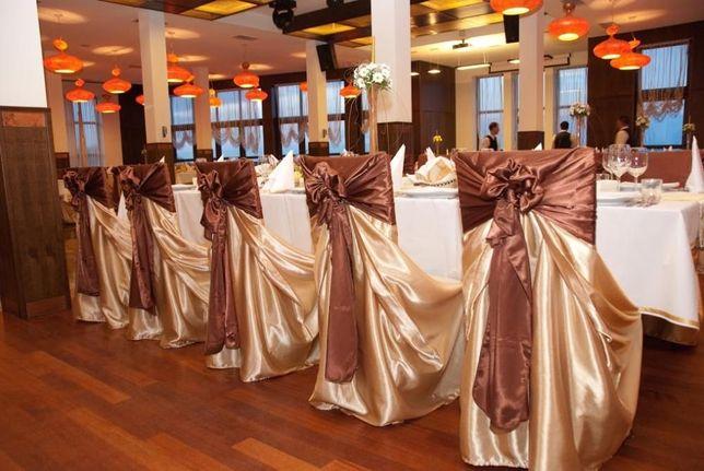 inchiriez/vând huse scaune nunta