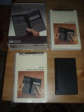 Calculator stiintific HP 28c la cutie, cu manuale