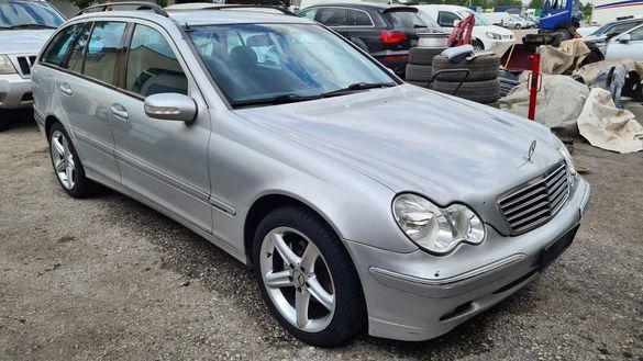 Mercedes c220 cdi НА ЧАСТИ 143кс 17 спорт пакет джанти мерцедес цди