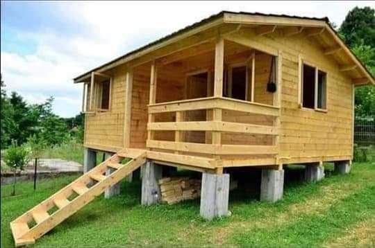 Vând casă cabană din lemn orce model