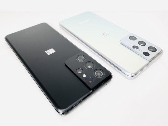 НОВ! Samsung Galaxy S21 Ultra 5G 128GB Phantom Silver / Black Гаранция