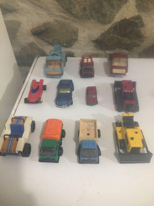 11 бр.стари детски метални играчки -колички гр. Бургас - image 1