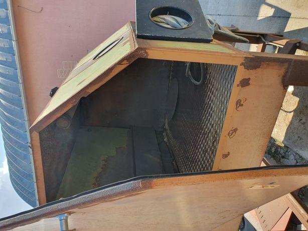 Cabinet de sablare