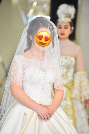 Продам свадебное платье (ручная работа)