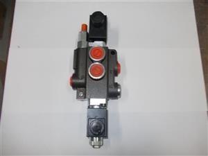 Distribuitor hidraulic electric 50 litri/min 12Vdc - 24 Vdc utilaje