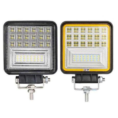 LED Bar светодиодная противотуманная фара туманка квадратная