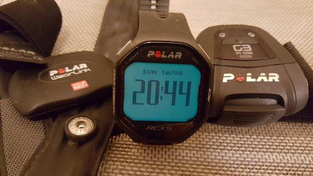 Ceas Polar RCX5 cu centura cardio si gps submersibil