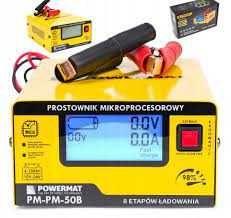Redresor baterie 12 -24V, Powermat PM-50B incarcator microprocesor