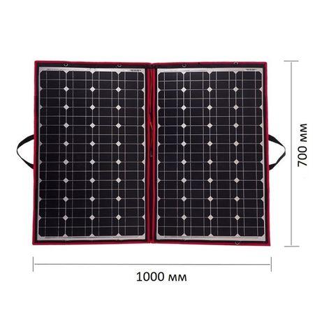 Гъвкав монокристален соларен панел с контролер 110W
