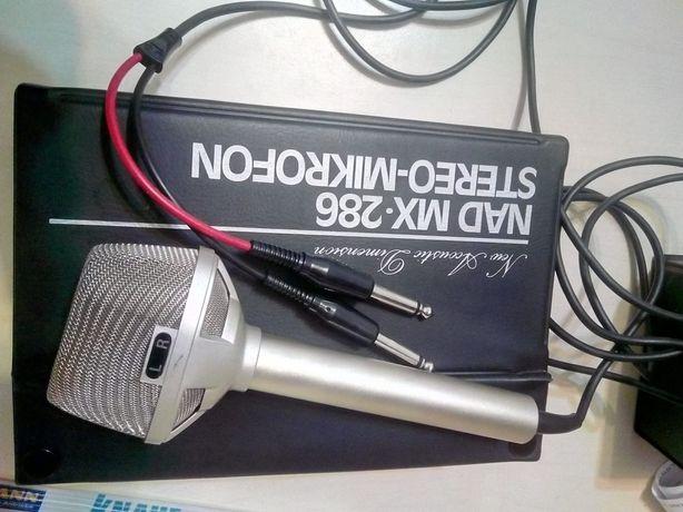 Microfon vechi profesional stereo