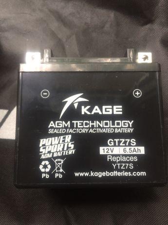 Аккумулятор гелевый 12V/6.5Ah. GTZ7S