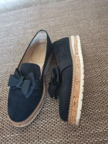 Pantofi dama piele întoarsă 39