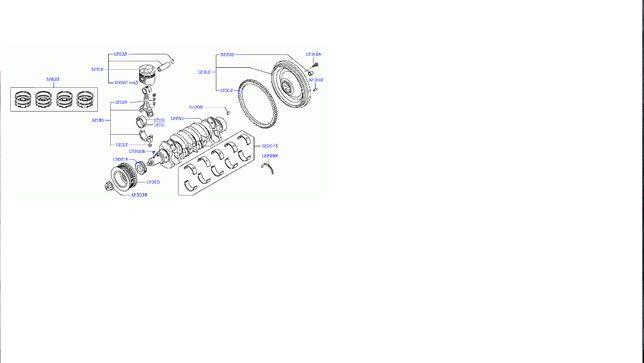 Cuzineti biela STD motor 3,0 D Nissan Cabstar, Atleon, Eco-t,L35