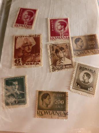 Set timbre Regele Mihai