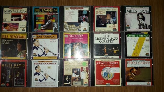 """Colectie de cd-uri jazz ,, Immortal Concerts """""""