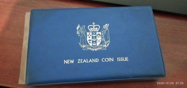 Set monede Noua Zeelandă 1978