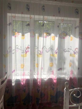 Тюль в детскую комнату