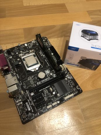 Продам процессор i5 4460,8GB озу,мат.плату
