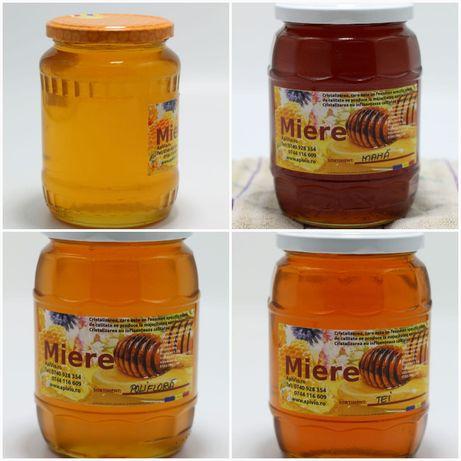 Miere de albine 100% naturala din stupina proprie