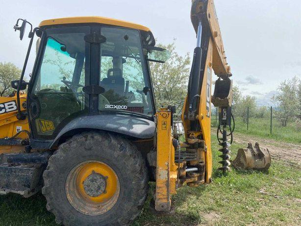 Услуги ямобура И экскаватора на базе трактора JCB 3CX