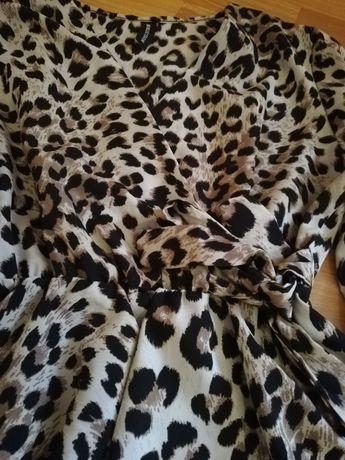 Bluză dama animal print S-M
