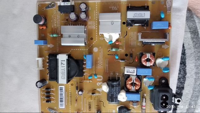 Placa alimentare tv LG smart 4K LGP43DJ-17U1