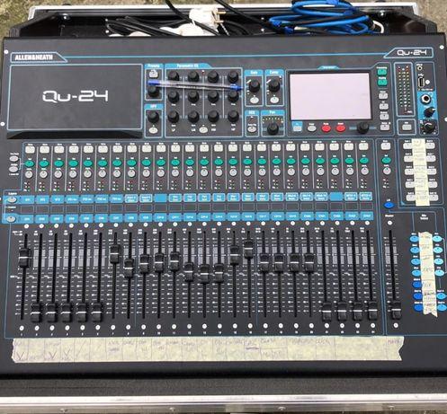 Mixer Allen&Heath QU24 (dynacord, rcf, yamaha, midas, x32, m32)