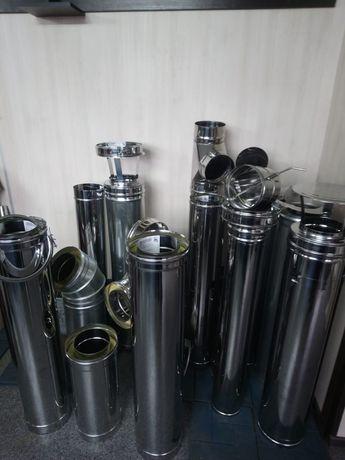Дымоходы для отопительных и банных котлов
