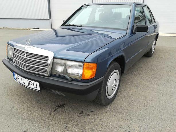 Mercedes 190E W201 - an 1982-138.000km - oldtimer