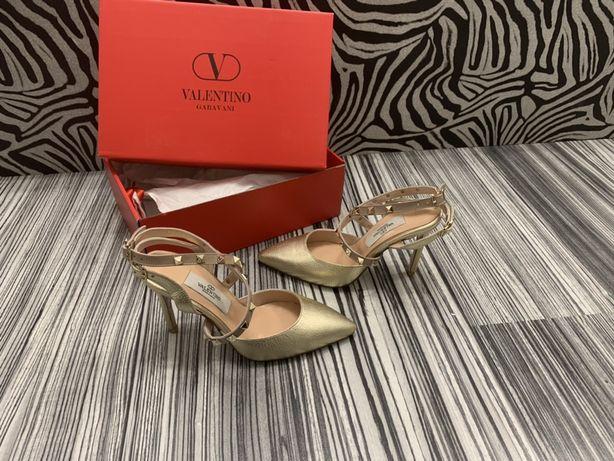 Pantofi VALENTINO-piele naturală 100%POZE REALE!Calitate superioară !