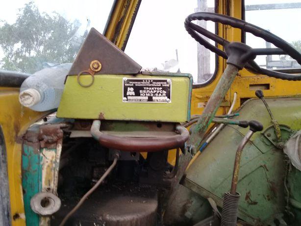 Трактор ЮМЗ 6, БОЧКА, ПЛУГ, ковш