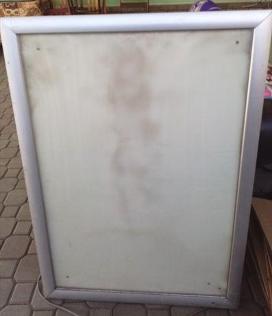 Рекламный светавой шит