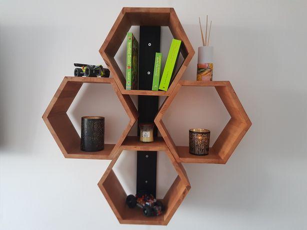 Mobila living, bucatarie, dormitor tip fagure, hexagon lemn fag stejar