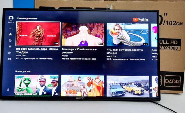 Телевизор Smart TV 102cm Полный комплект Kaspi Red Код 844
