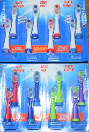 Глави накрайници за електрически четки за зъби Crest SpinBrush
