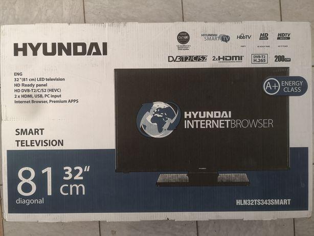 Tv Led Smart Hyundai, 81 cm,  Dvb T2-C-S2, A+, Wifi, Hbb tv.