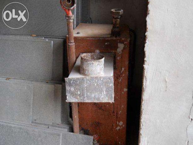 Cazan centrala termica combustibil solid si gaz