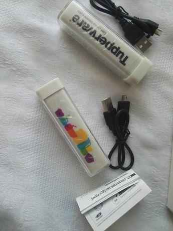 Нова Портативна Външна Батерия PowerBanк на Tupperware