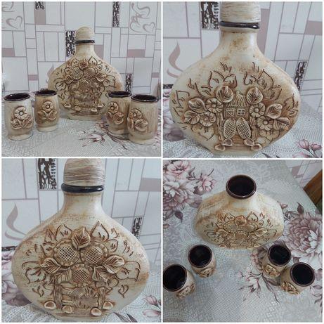 Винный керамический набор