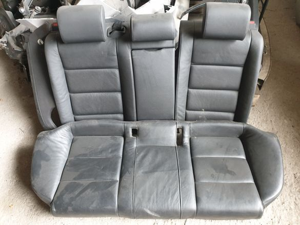 Задни кожени седалки Ауди А6 4ф седан