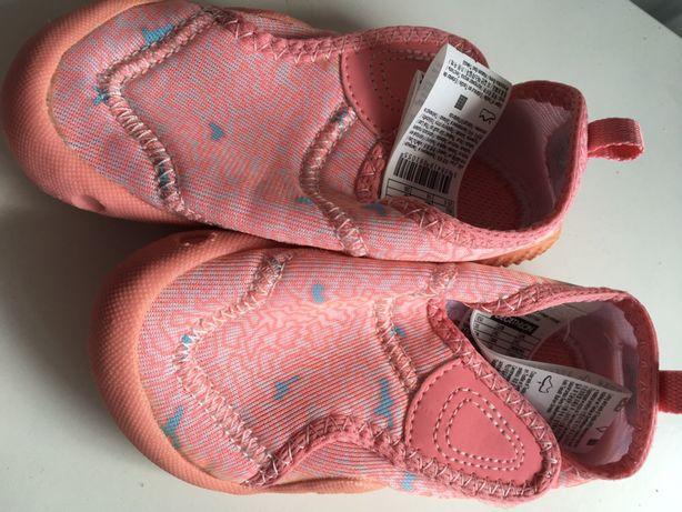 Pantofi pentru apa, Decathlon, nr 26,16 cm, o singura purtare