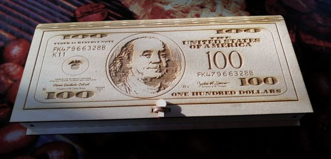 Купюрница доллар