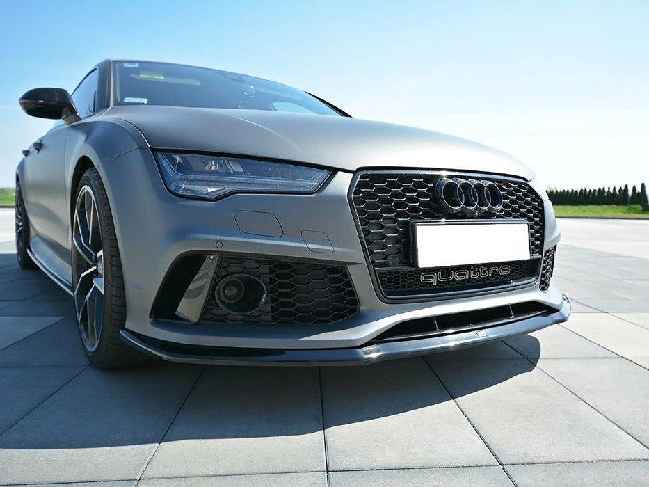 Prelungire bara fata Audi A7 4G (10-18) RS Design Maxton Design Suceava - imagine 1