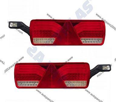 LED Стоп с букса+ Рогче/Товарен автомобил/Налични