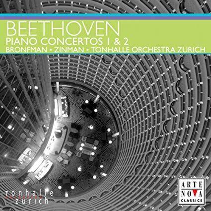 CD Beethoven - Piano Concertos 1,2 - Arte Nova